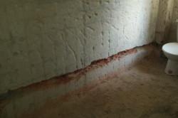 Koupelna 1  před rekonstrukci
